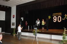 Oslavy 90.výročia futbalu v Suchej nad Parnou