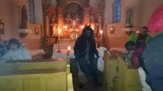 Mikuláš aj v kaplnke v doline
