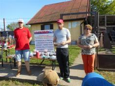 Rybárske preteky detí o pohár starostky obce Suchá nad Parnou, konaných dňa 7.5.2016 na Priehrade v Suchej nad Parnou.