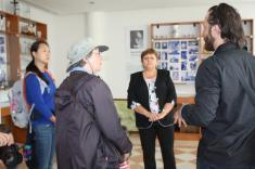 Návšteva obce a pamätnej izby potomkov z USA