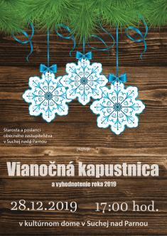 Vianočná kapustnica 20192