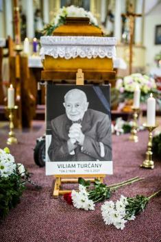 Posledná rozlúčka s Viliamom Turčánym
